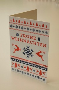 Weihnachtskarte Motiv 2